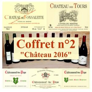 "Pack n°2 - ""Château 2016"" (5 wines +1 oil)"