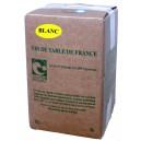 Vin BLANC sans sulfites 5L
