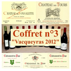 "Pack n°3 ""Vacqueyras 2012"" (5 wines + 1 oil)"