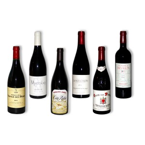 Pack 6 red wines of south 2011