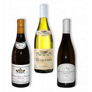 Pack 3 White wines 2010