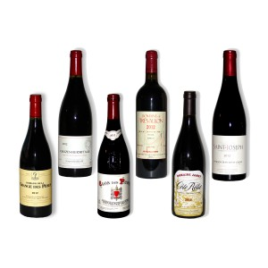 Pack 6 red wines of south 2012