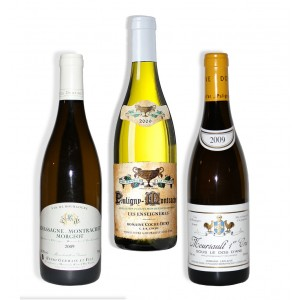 Pack 3 White Burgundy 2009