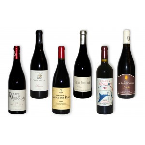 Pack 6 red wines of south 2013