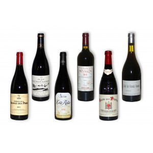 Pack 6 red wines of south 2015